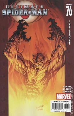 Ultimate Spider-Man #76 2005 FN Stock Image