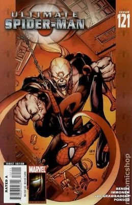 Ultimate Spider-Man #121 2008 VG Stock Image Low Grade