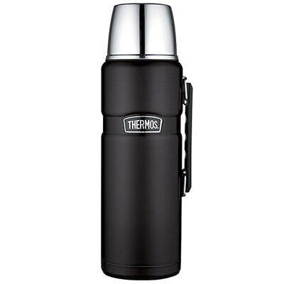 Thermos Stainless King Vacuum Insulated Beverage Bottle - Black - 2L Part # S...