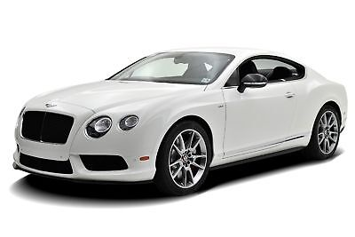 Continental GT Coupe 2015 Bentley Continental GT V8 S Coupe 14,202 Miles Glacier White Coupe Twin Tur