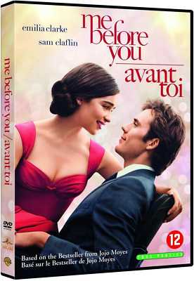 DVD *** ME BEFORE YOU - AVANT TOI ***  Emilia Clarke ( neuf sous blister )