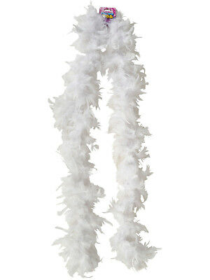 "Deluxe Large White 72"" Costume Accessory Feather Boa"