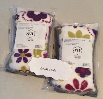 Princess House Speciality MicrofibeNon-Scratch Set of Two Sponges - New!