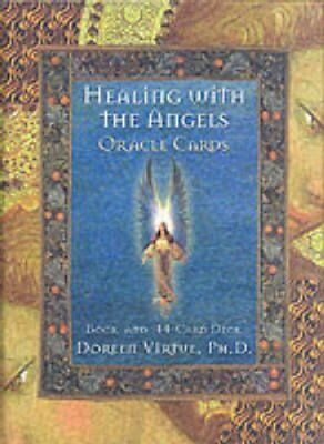 Healing With The Angels Oracle Deck by Doreen Virtue 9781561706396 (Cards, 1999)