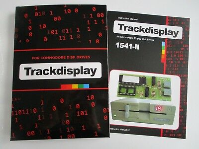 Track Display kit for Commodore 1541-II Disk Drive - Soldering Required  [03]