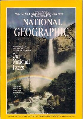 national geographic-JULY 1979-U.S. NATIONAL PARKS.