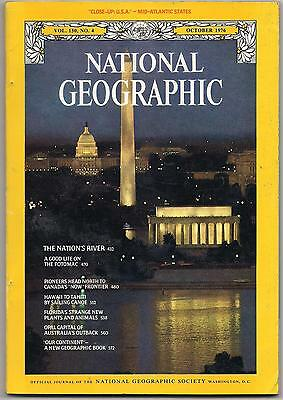 national geographic-OCT 1976-THE NATION'S RIVER.