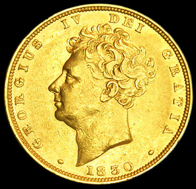 Excellent King George The Iv 1830 Gold Sovereign....