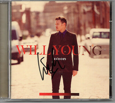 WILL YOUNG - Signed CD - Echoes - MUSIC