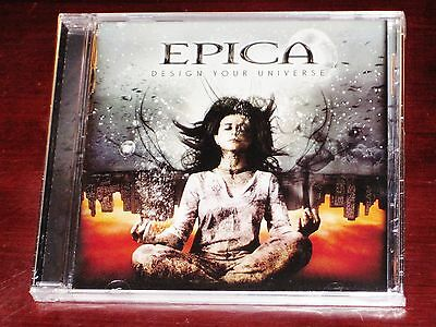 Epica: Design Your Universe CD 2009 Nuclear Blast Records USA NB 2345-2 NEW