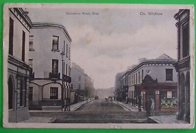 Postcard POSTED 1905 QUINSBORO ROAD BRAY Co.WICKLOW IRELAND