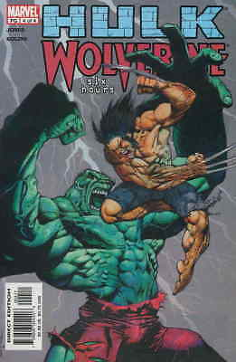 Hulk/Wolverine: Six Hours #4 FN; Marvel | save on shipping - details inside