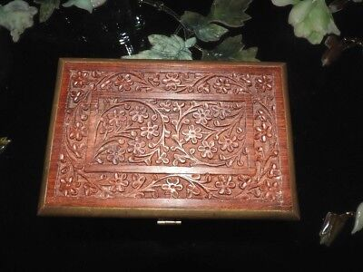 Amazing Hand Carved Lidded Box