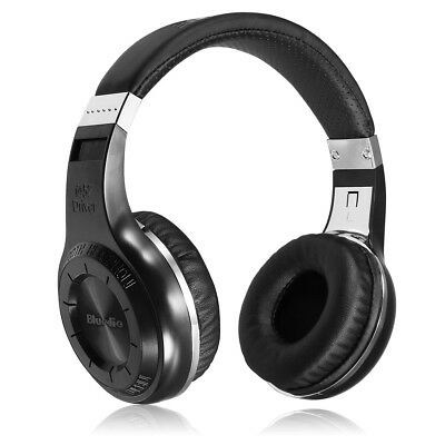 ANC Foldable Wireless Bluetooth Active Noise-Cancelling Headphones Headset Mic