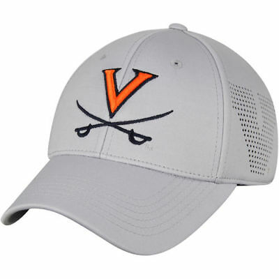 finest selection 41233 8b169 Top of the World Virginia Cavaliers Gray Lightrail 1Fit Flex Hat