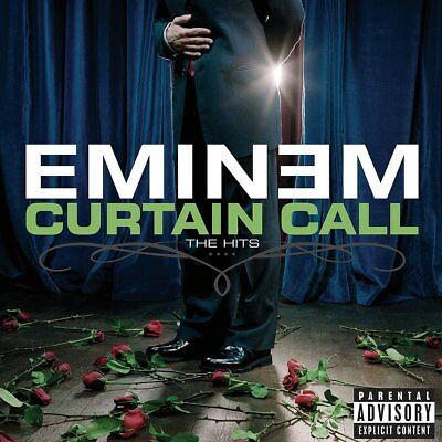 Eminem ~ Curtain Call ~The Hits ~ Best of  ~ Greatest Hits  [PA] NEW CD (sealed)