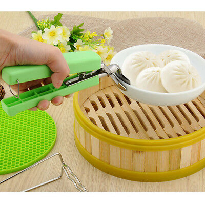Long Lasting Take Bowl Clip Stainless Steel Secure Kitchen Tools Food Plastic