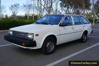 1982 Datsun 310 / Sentra Wagon  1982 Datsun 310 Nissan Sentra Sunny Wagon 55K Orig Miles 1 Owner CLEAN Car Video