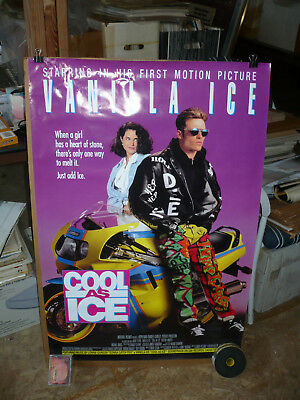 COOL AS ICE, orig rolled 1-sh / movie poster (Vanilla Ice, Kristin Minter)1991