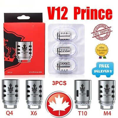 3Pcs Authentic SMOK TFV12 Prince Coils V12 Prince M4/Q4/X6/T10 for Prince Tank