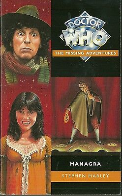 OOP  Paperback Book - DOCTOR WHO - Managra - Stephen Marley - Virgin - 1995