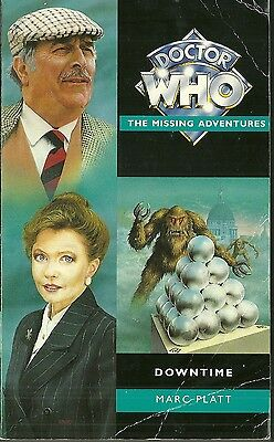 OOP  Paperback Book - DOCTOR WHO - Downtime - Marc Platt - Virgin 1996