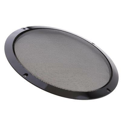 """1pcs 4/""""-10/"""" inch Speaker Cover Decorative Circle Metal Mesh Grille Protection"""