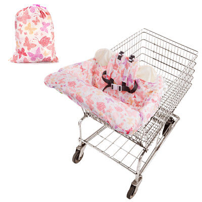☁ Baby Shopping Cart Cover Trolley Cushion Pad Chair Safety Comfortable Seat Mat
