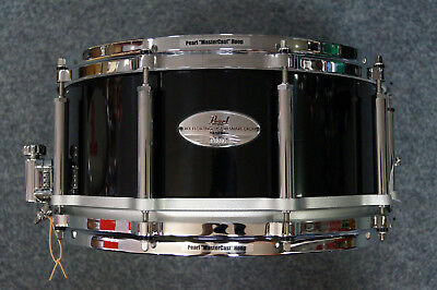 "Pearl Free Floating Maple Snaredrum in ""Piano Black""  -  14x6,5"""