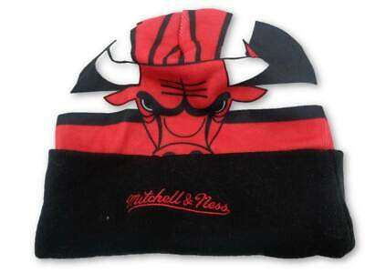 brand new ce2e1 5c304 coupon code for chicago bulls mitchell ness nba stop on a dime knit hat cap  toque