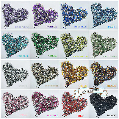 Resin Beads Love Heart Flat Back 8/10/12mm Crystal Rhinestone Shining Ornament