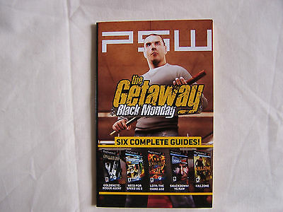 PSW THE GETAWAY BLACK MONDAY - LOTR: THE THIRD AGE - 6 COMPLETE GUIDES! Rare