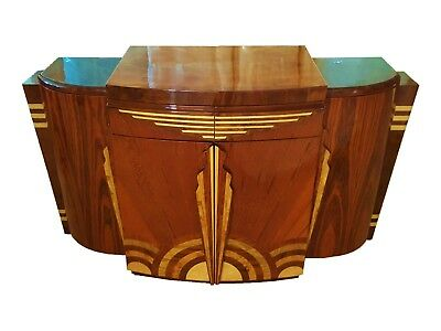 in 4 weeks Imposing Quality Art Deco style Sideboard Credenza