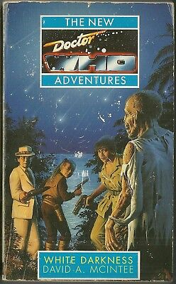 OOP - Paperback Book - DOCTOR WHO - WHITE DARKNESS - David A. Mcintee - Virgin