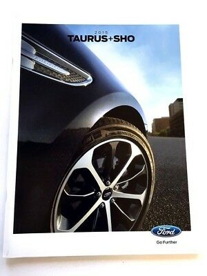 2015 Ford Taurus and SHO 32-page Original Sales Brochure Catalog
