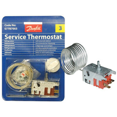 BRANDT  Thermostat Danfoss N°3 - 077b7003 (NEUF) AS0003929 Pour REFRIGERATEUR
