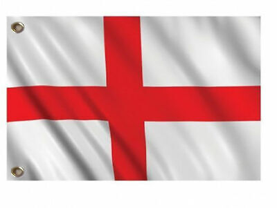 5 x 3ft St Georges Day England St George Flag 2018 World Cup Supporter Accessory