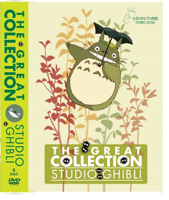 DVD The Great Collection Studio Ghibli English Dubbed Japanese Anime