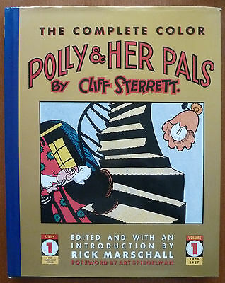 POLLY & HER PALS Vol.1..CLIFF STERRETT..KITCHEN SINK 1990 1ST PRINTING..VFN..OOP