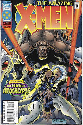 1995 The Amazing X-Men #4 The Age Of Apocalypse Marvel Comics