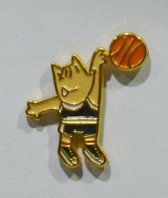 Pins Basket Ball Barcelone 1992 Mascotte Cobi Jeux Olympiques