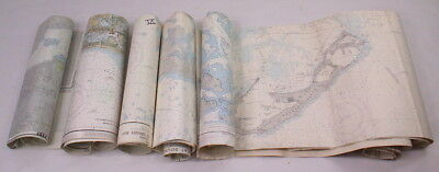 7 Vintage Maps Of Bermuda Island Hamilton Harbor Morehead City Beaufort Inlet