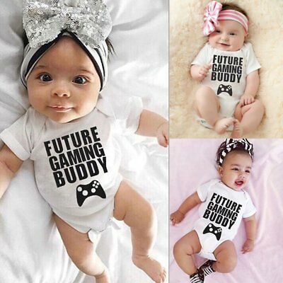 Newborn Infant Baby Girl Boy Romper Jumpsuit Bodysuit Sunsuit Clothes Outfit