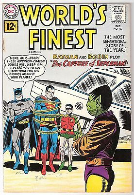World's Finest #122, 1961 Dc, Fn+ Condition, Tape On Staple