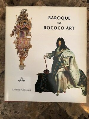 Abrams Art History Book BAROQUE and ROCOCO ART by Liselotte Andersen