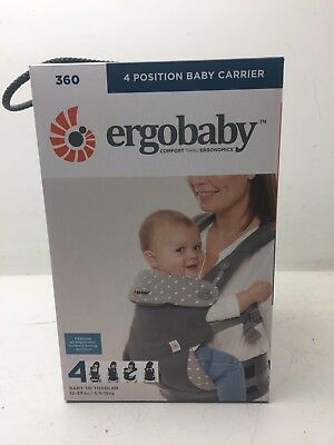 ergobaby 360 4 Position Baby Carrier Brand New (35) (H4)