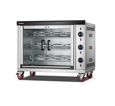 220V Chicken Commercial Rotisserie Oven Electric and Gas Heating
