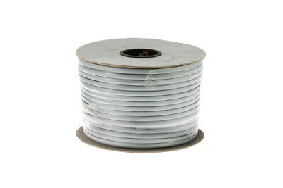 Cat3 Silver Satin Modular Cable, 8 Conductor, 1000 Ft., Lifetime Warranty