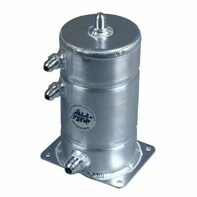 A H Fabrications Alloy Fuel Swirl Pot - 1.5 Litre Capacity With JIC Fittings