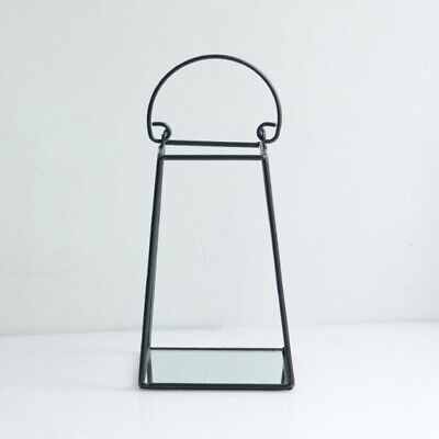 3D Geometric Metal Iron Frame Candle Holder Tealight Candlestic Table Ornaments